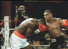 Vicious Uppercut from Mike Tyson #boxing #knockout