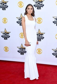 Olivia Culpo - Every Look from the 2015 Academy of Country Music Awards - Photos