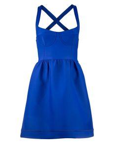 Bright Blue Party Dress | Dresses by Cynthia Rowley