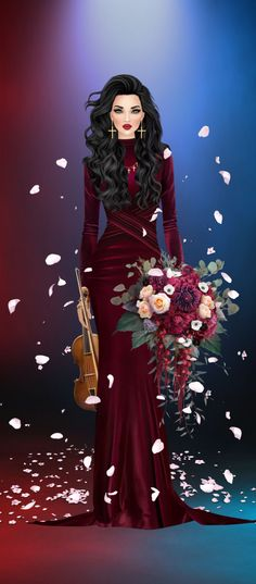 Covet Fashion, College Outfits, Special Occasion, Evening Dresses, Wonder Woman, Superhero, Bride, Illustration, Girls