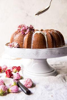 Cream Cheese Swirled Coconut Tres Leches Cake | halfbakedharvest.com #cake #Mexican #recipes #spring via @hbharvest