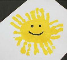 10 Nouveaux modèles de peintures à faire avec les empreintes de mains des enfants! - Brico enfant - Trucs et Bricolages