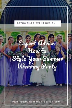 How to style your Summer wedding party with hot trends and gorgeous looks. Blue Bridesmaids, Short Bridesmaid Dresses, Wedding Blog, Wedding Venues, Farm Wedding, Wedding Ideas, Outdoor Wedding Inspiration, Bridesmaid Inspiration, Space Wedding