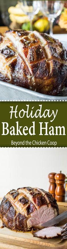 Holiday Ham - Baked Ham with Citrus Glaze Holiday Ham - Baked. Holiday Ham - Baked Ham with Citrus Glaze Holiday Ham - Baked Ham with Citrus Glaze Holiday Ham, Holiday Baking, Holiday Recipes, Dinner Recipes, Breakfast Recipes, Drink Recipes, Dessert Recipes, Pork Recipes, Cabbage Recipes