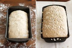 Whole Wheat Honey Oat Bread! SO good! The little oats you sprinkle on top don't stay, so it's somewhat a waste, BUT, they bread itself is awesome!