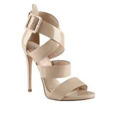 Alvara at ALDO. I love these and they could look fab with my dress... but they might be too high.  Gotta try 'em!