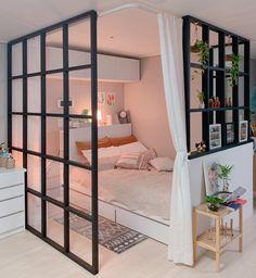 Small Room Design Bedroom, Home Room Design, Room Ideas Bedroom, Home Bedroom, Bedroom Decor, Study Room Decor, Minimalist Room, Aesthetic Room Decor, Dream Rooms
