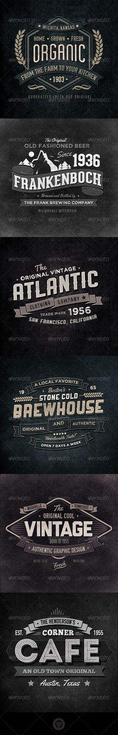 Retro Typographic Insignia and Badges Template | Buy and Download: http://graphicriver.net/item/retro-typographic-insignia-and-badges-vol-3/6533128?WT.ac=category_thumb&WT.z_author=GraphicMonkee&ref=ksioks