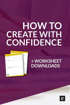 How To Create With Confidence | Do you ever feel like you're not qualified to create? Like you need to reach expert-level status before you can start your blog, write your novel, launch your business? Click through for tips on how to create with confidence. Expert status not required.
