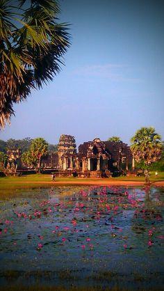 Ankhor Wats, Cambodia