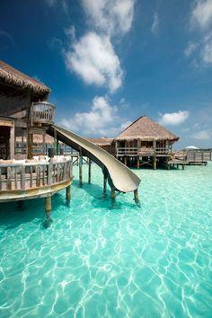 Maldives - 2015 best resort http://www.gili-lankanfushi.com/