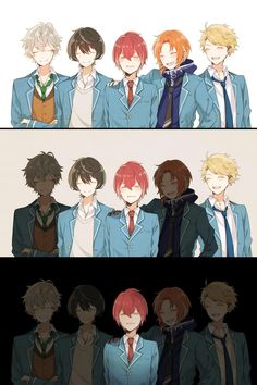 knights | Ensemble Stars {I pray that this never happens in game, please.}