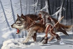 The Waheela is a wolf-like cryptid reported from Nahanni Valley in the Northwest Territories of Canada. It has also been reported in areas of Michigan and Alaska.[1][2] Cryptozoologist Ivan Sanderson thought that the waheela might represent a relict population of Amphicyonids, prehistoric bear-dogs (but which he incorrectly referred to as dire wolves, which were true, but not what the waheela is said to be).