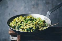 Fifty shades of greens pasta