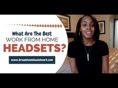 Best 3 Work from Home Headsets (Giveaway) + Chat Job Alert!
