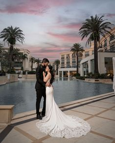 A designer dream wedding surrounded in pure Palazzo Versace opulence. Congratulations to Jeci and Zac. Versace Gold Coast, Palazzo Versace, Congratulations, Dream Wedding, Pure Products, Weddings, Wedding Dresses, Collection, Design