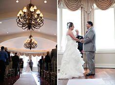 indoor ceremony- Sarah Pudlo photography
