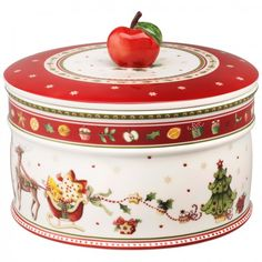 Winter Bakery Delight Caja de galletas, grande 13x17cm - Villeroy & Boch