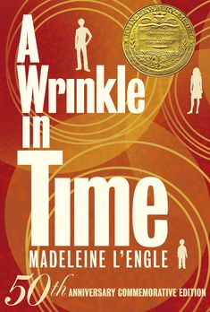 A Wrinkle in Time by Madeleine L'Engle 1963 Newberry Winner Fifty years ago, Madeleine L'Engle introduced the world to A Wrinkle in Time and the wonderful and unforgettable characters Meg and Charles Wallace Murry, and their friend Calvin O'Keefe. When the children learn that Mr. Murry has been captured by the Dark Thing, they time travel to Camazotz, where they must face the leader IT in the ultimate battle between good and evil--a journey that threatens their lives and our universe.