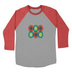 THAT PRETTY LADY [E] Men's Baseball Triblend T-Shirt by Veronica Galbraith • Surface Pattern Designer