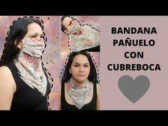 COMO HACER PAÑUELO CON CUBREBOCA.🌺💕 - YouTube Tapas, Youtube, Sewing, Videos, Fabric, Instagram, Bandanas, Diy, Ribbon Hair Ties