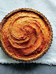 Sweet potato pie by Dale Pinnock from The Medicinal Chef: Healthy Every Day Pie Recipes, Baking Recipes, Sweet Recipes, Dessert Recipes, Savoury Recipes, Raw Desserts, Delicious Desserts, Sweet Potato, Potato Pie