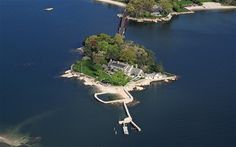 3.5     acre island in Stamford, Connecticut