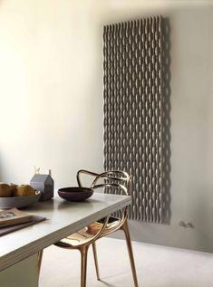Trame radiator designed by Stefano Giovannoni for Tubes Vertical Radiators, Electric Radiators, Designer Radiator, Dream Bathrooms, Innovation Design, Modern Decor, Kitchen Design, Decoration, Wall Decor