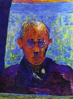 Pierre Bonnard | Self Portrait, 1942, Oil on canvas, Private collection More