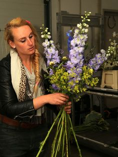 Bloemen kijken
