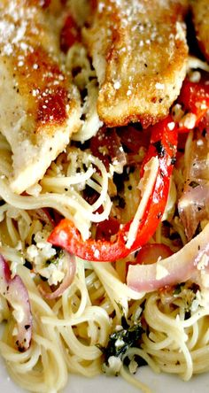 Chicken Scampi - received raves that it was spot on to Olive Garden's recipe