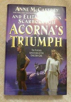 Acorna's Triumph Elizabeth Ann Scarborough Anne McCaffrey 2004 1st Ed 1st Print