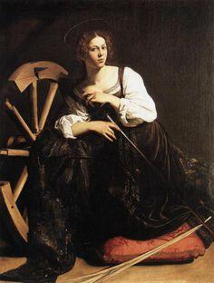 St. Catherine, c.1599, Michelangelo Merisi da Caravaggio
