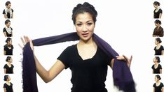 Someone mentioned the other day they didnt know how to wear scarfs. 25 ways to wear a scarf. Best tutorial I've seen on scarf tying. Beauty And Fashion, Look Fashion, Diy Fashion, Ideias Fashion, Fashion Tips, 1950s Fashion, Trendy Fashion, Spring Fashion, Fashion Ideas