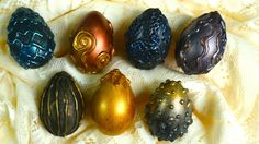 How To Make Dragon Eggs! Harry Potter Inspired Easter Decoration Craft!
