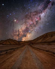 Milky Way: San Pedro de Atacama, Valle de la Luna, Atacama Desert, Chile. By Babak A. Tafreshi -- Wow I can't wait to see this Places To Travel, Places To See, Valley Of The Moon, National Geographic Travel, Milky Way, Stargazing, Night Skies, Cosmos, South America