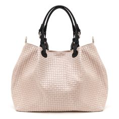 Dila Pink woven look Italian leather shopper  Marlafiji  Live show TVSN Australia and New Zealand Tuesday 3rd May 15.30pm  Mother's day special  T