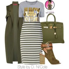 >>>Cheap Sale OFF! >>>Visit>> A fashion look from August 2015 featuring Juicy Couture t-shirts A. skirts and Hermès handbags. Browse and shop related looks. by winifred Classy Outfits, Chic Outfits, Fall Outfits, Fashion Outfits, Womens Fashion, Fashion Trends, Fashion Quiz, Fashion News, Dress Outfits
