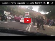 Camion de harina saqueado en la Valle - Coche  http://www.facebook.com/pages/p/584631925064466