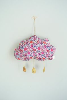 Liberty d'Anjo Cloud Mobile by LittleCloudUk on Etsy, £25.00