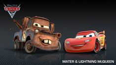 caricaturas carros trucks | Clip del nuevo aspecto de MATE, el mejor amigo de Rayo McQueen, en ...