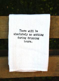 Funny Tea Towel