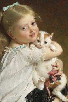 1882 - Her Best Friend - Emile Munier (1840-1895)