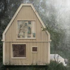 Yksiö Puutarhassa | Yksiö Puutarhassa on pieni puinen ja teollisesti tuotettava omakotitalo, jonka tontin omistaja voi ostaa tontilleen ja vuokrata eteenpäin.