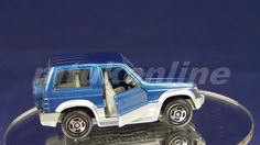 TOMICA 030E MITSUBISHI PAJERO MK2 | 1/62 | 30E-5 | LIGHT | 1993 JAPAN
