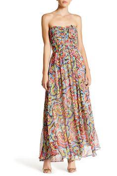 Jade Strapless Dress