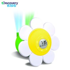 @Overstock - It's always spring time with the Discovery Kids Daisy Bloom Projection Alarm Clock. Dual pivoting lenses project images up to ten feet away and an amazing 4 feet wide.http://www.overstock.com/Sports-Toys/Discovery-Kids-Daisy-Bloom-Projection-Alarm-Clock/7456206/product.html?CID=214117 $25.99