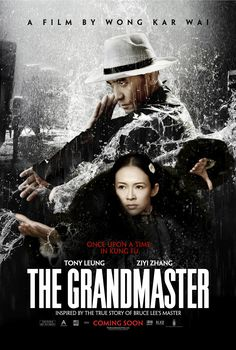 The Grandmaster #Movie #Poster - Tony Leung and Ziyi Zhang Dir. by Wong Kar Wai