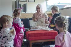 Kids love their stories #goodvsevil #playatEROAD