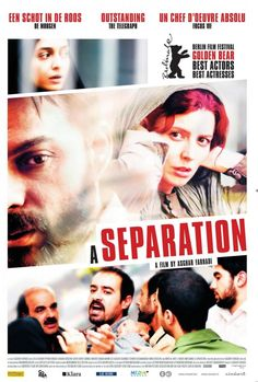 """""""Nader y Simin, una separación"""" de Asghar Farhadi"""